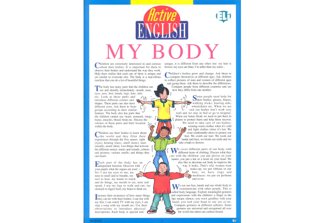 Active English - My body
