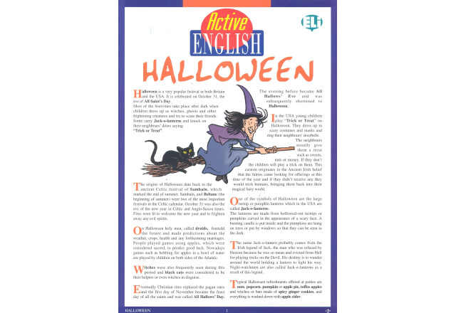 Active English - Halloween