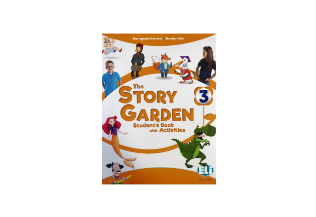 THE STORY GARDEN 3 - Student's Book with activities + Digital Book