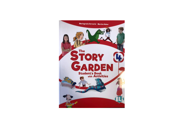 THE STORY GARDEN 4 - Student's Book with activities + Digital Book