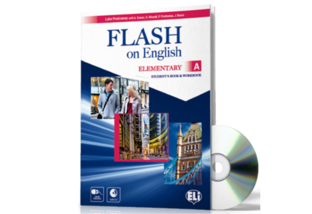 FLASH on English Student's Book + Workbook: Elementary A + CD Audio
