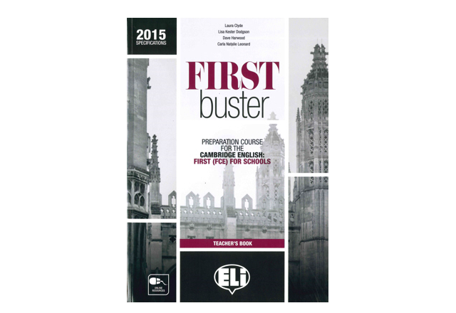First buster - Teacher's Book + 3 Audio CDs