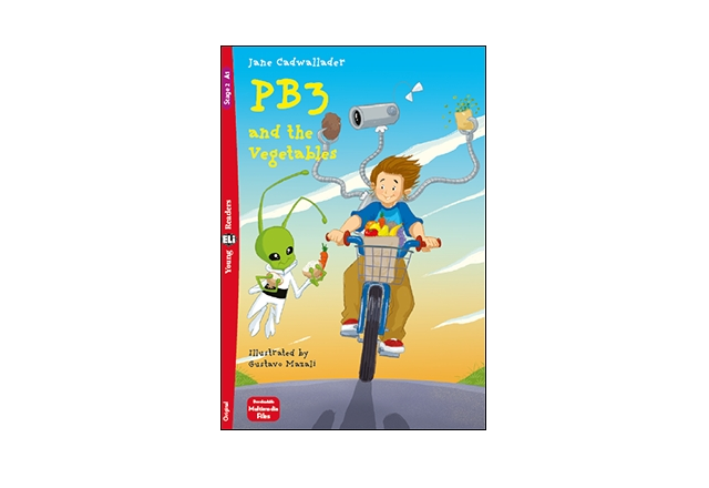 PB3 and the Vegetables+ audio MP3/Video