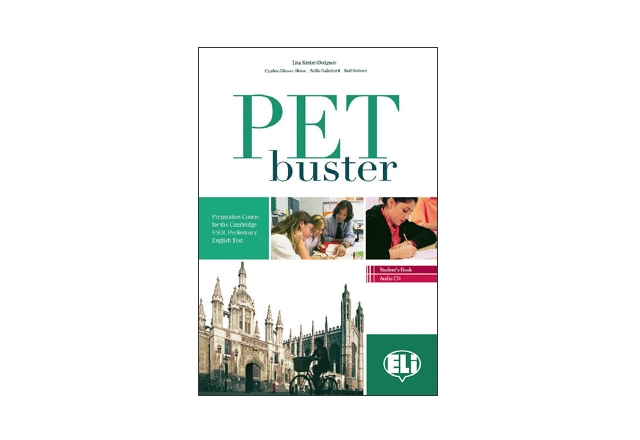 PET buster with keys - учебник