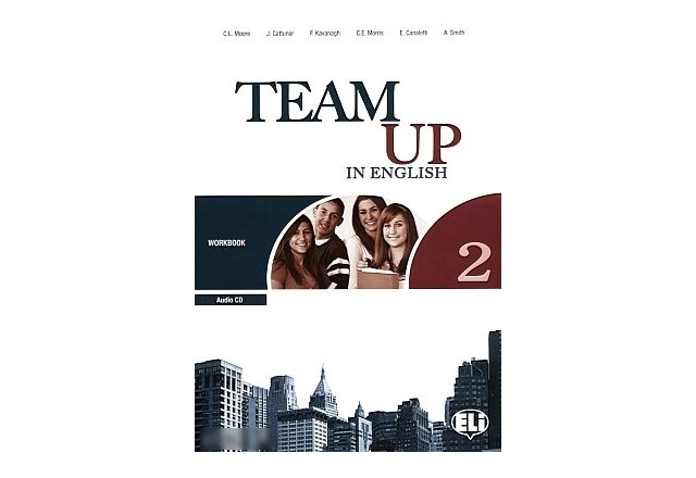 TEAM UP in English! 2 - Учебна тетрадка