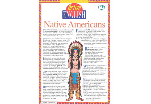 Active English - Native Americans
