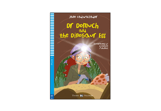 Dr Domuch and the dinosaur egg + audio MP3