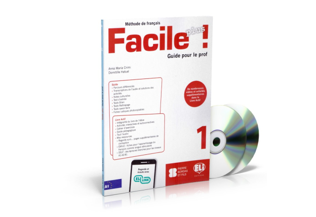 Facile Plus 1 - Guide pédagogique + 2 CD