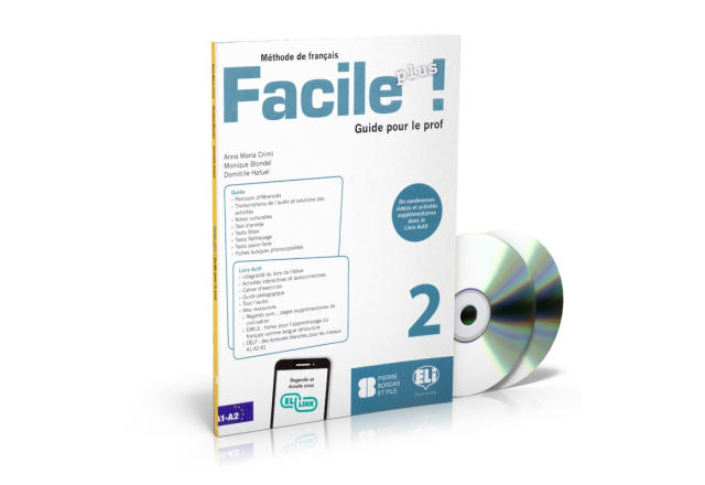 Facile Plus 2 - Guide pédagogique + 2 CD