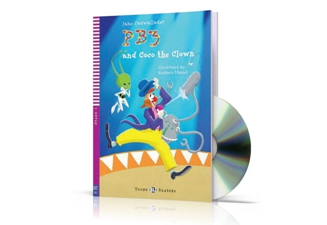 PB3 and Coco the clown + CD